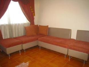 Philippines Hotel Accommodation Cheap   Taft Tower Manila Manila - Corner Suite Living Area
