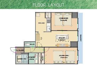 삿포로의 아파트먼트 (63m2, 침실 2개, 프라이빗 욕실 1개) image