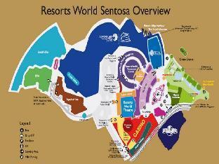 view of Resorts World Sentosa - Crockfords Tower