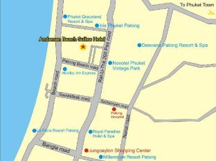 Andaman Beach Suites Hotel Phuket - Map