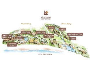Katathani Phuket Beach Resort Пукет - Скици