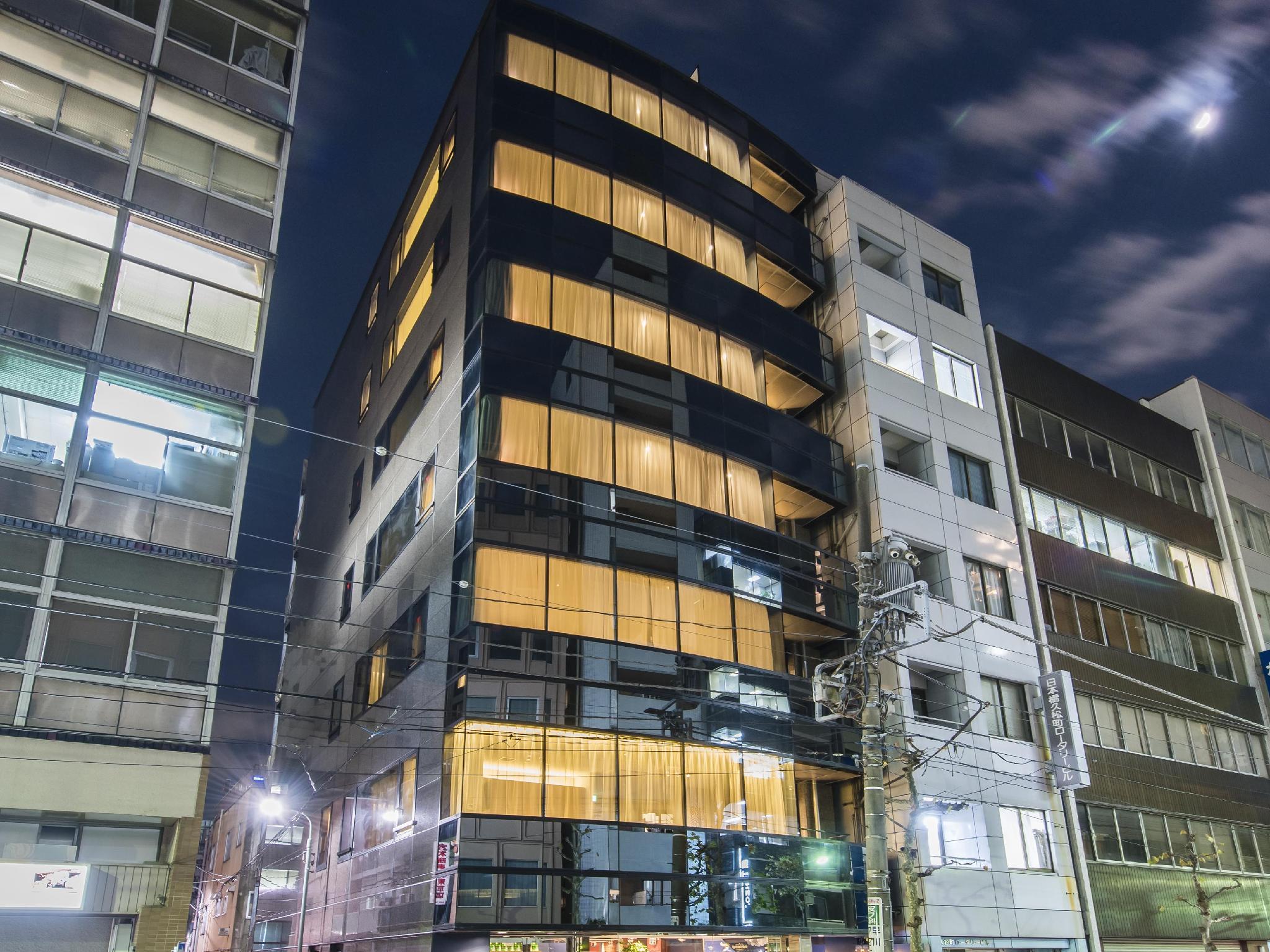 grids hostel lounge nihombashi east tokyo station  tokyo