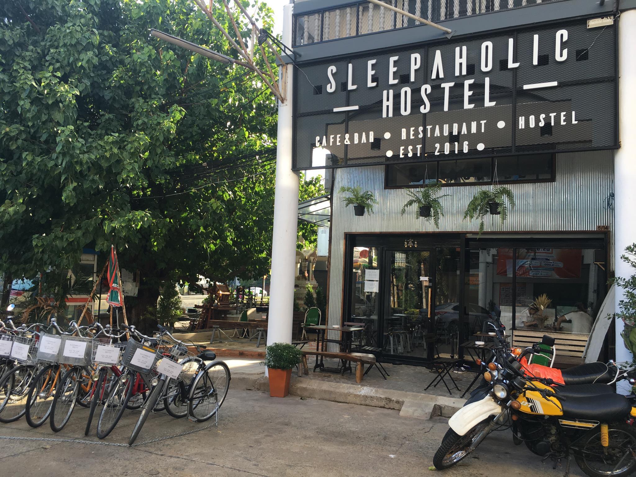 sleepaholic hostel,สลีปาฮอลิค โฮสเทล