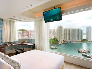 Ovolo Aberdeen Harbour Hong Kong - Corner Sea View Suite