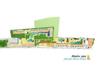 Kata Sea Breeze Resort Phuket - Floor Plans