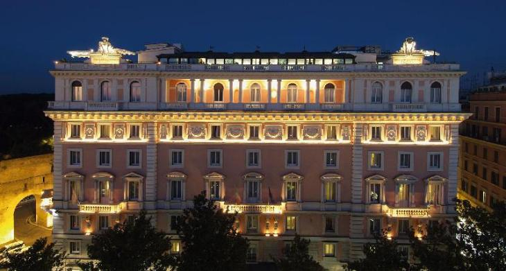 Rome Marriott Grand Hotel Flora photo 1