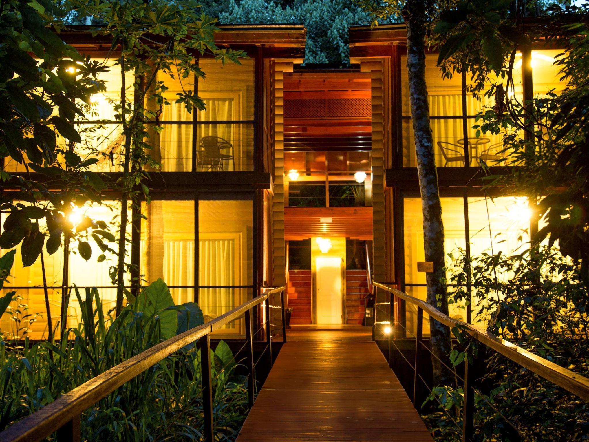 Отель la cantera lodge de selva в пуэрто игуасу от 2879 руб.