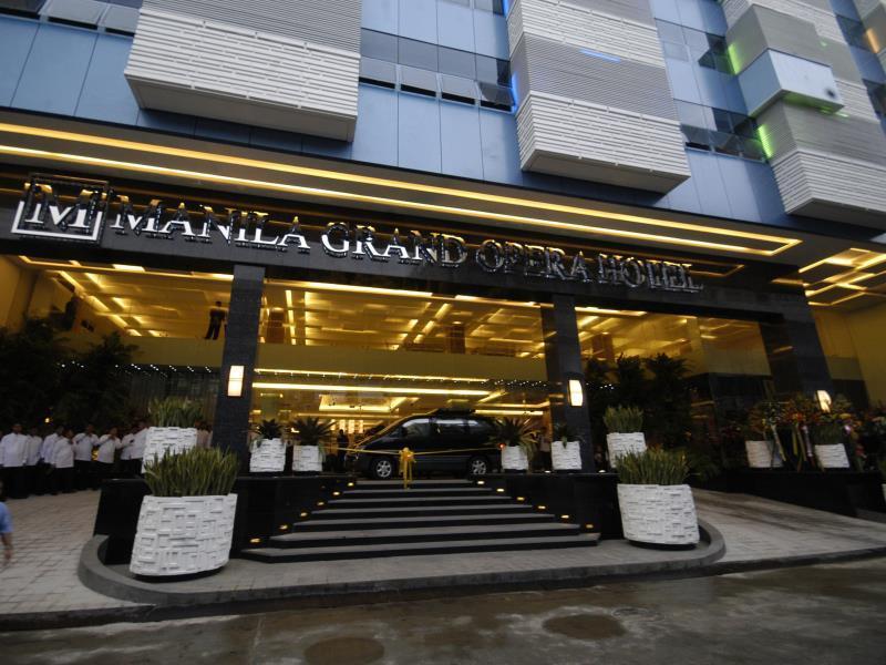 Manila Grand Opera Hotel - Facade
