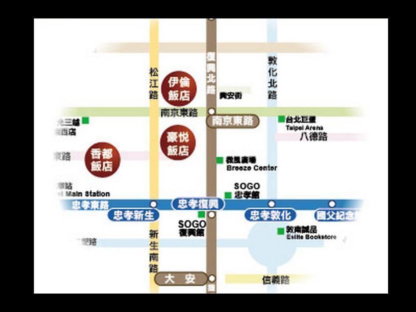 Taiwan Hotel Accommodation Cheap | Map