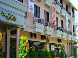 Casa Leticia Business Inn Davao - Hotellet från utsidan