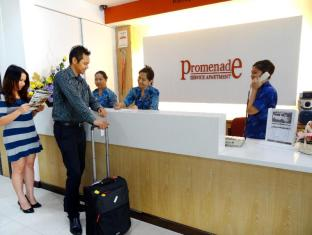 Promenade Service Apartment Kota Kinabalu - Reception