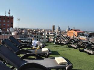 Welcome Piram Hotel Rome - Roof Garden Solarium