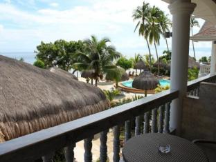Linaw Beach Resort and Restaurant Panglao Island - Balkon/Terrasse
