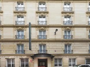 Hotel Balmoral Champs-Elysees Paris - outside facade 19th century