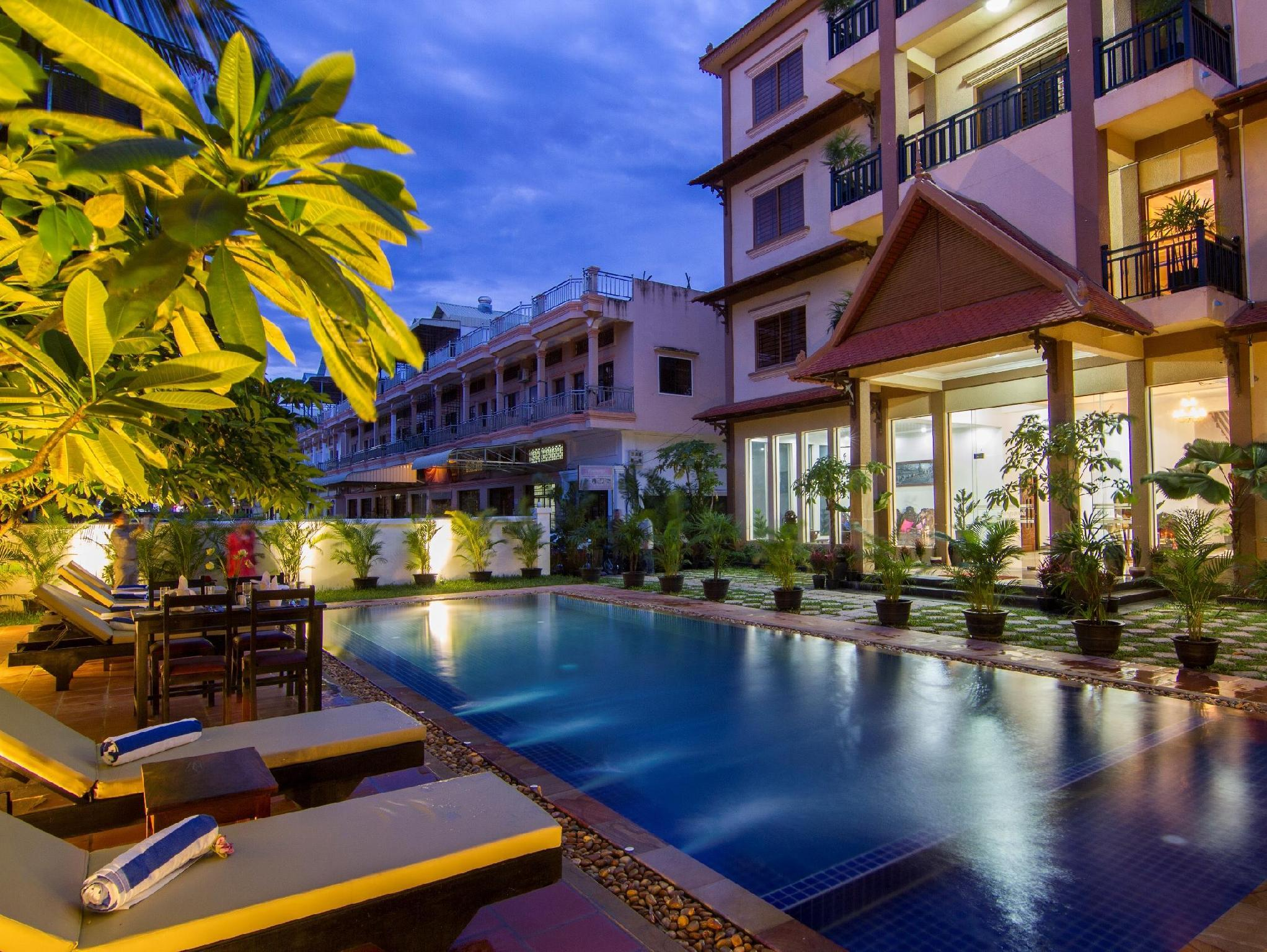 Desire park boutique hotel siem reap central area siem for Boutique hotels near central park