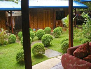 L'Elephant Bleu Cottages Bohol - Κήπος