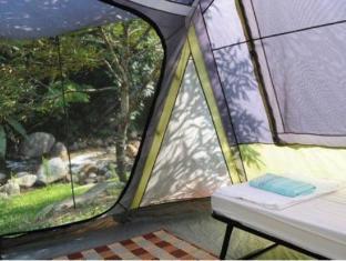 Tanah Aina Farrah Soraya Eco Tourism Resort Raub - Camping Tent Interior