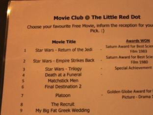 Backpacker's Hostel @ The Little Red Dot Singapore - Movie Club with Little Red Dot