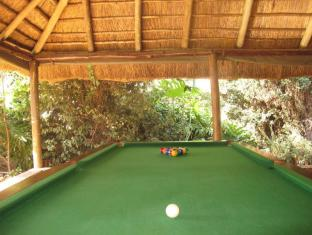 Aero Guest Lodge Johannesburg - Pool Table in African Lounge