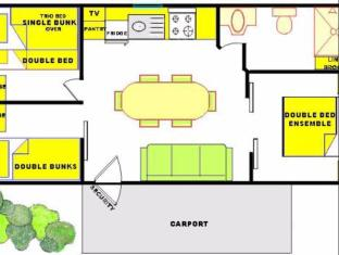 Eldorado Tourist Park Geelong - Floor Plans