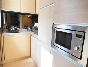 Yin Serviced Apartments Hong Kong - Dapur