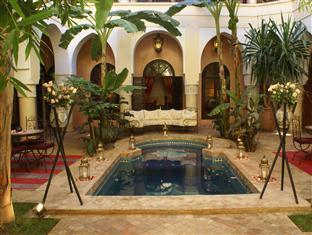 Riad Nabila Marrakech - Patio with plunge pool