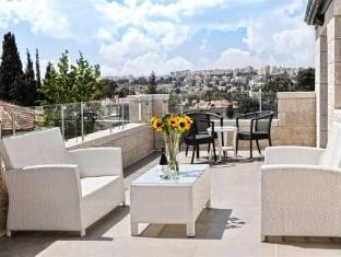 Tamar Residence Hotel Jeruzalem - balkon/terasa