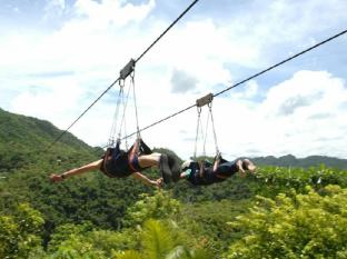 Amun Ini Beach Resort & Spa Bohol - Zip-line at Loboc