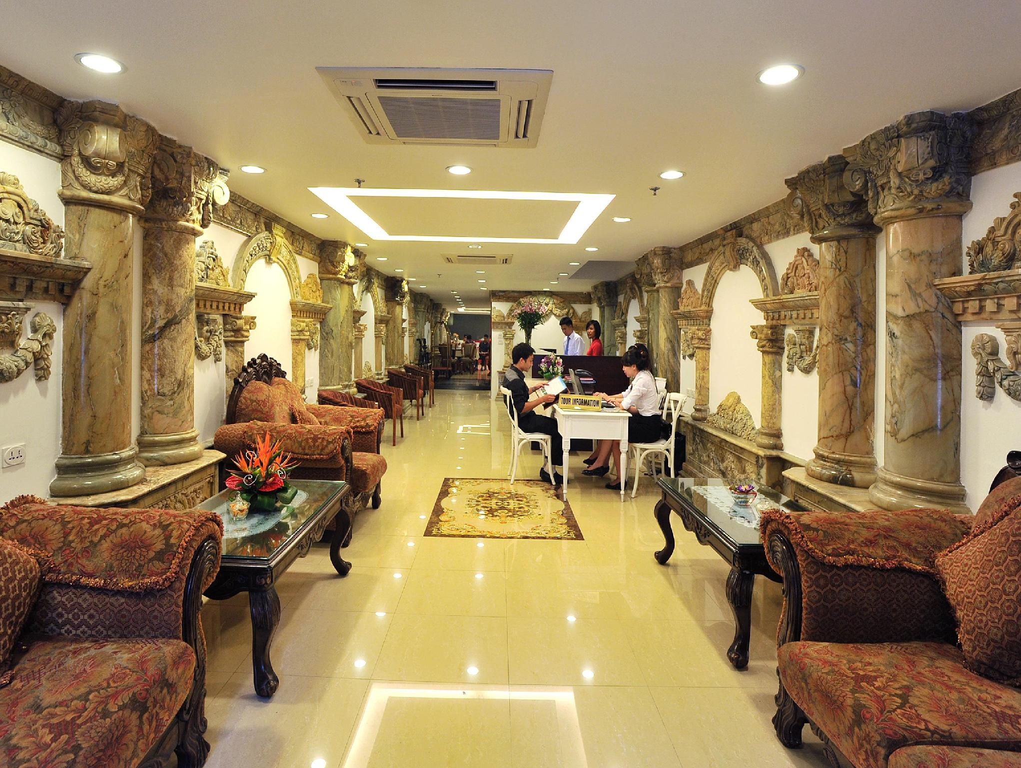 Best Price on Hanoi Legacy Hotel - Hang Bac in Hanoi + Reviews