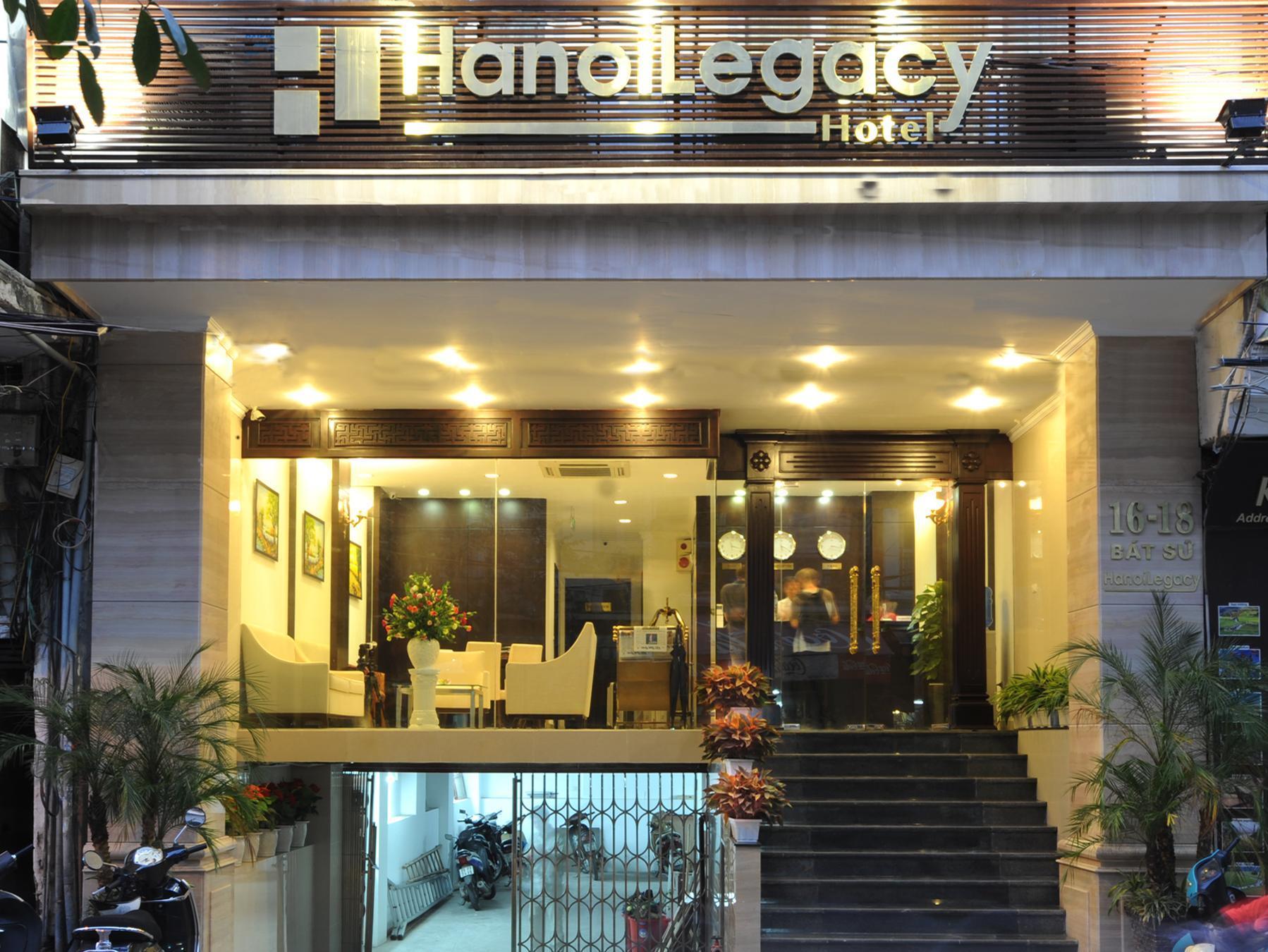 Serene boutique hotel spa