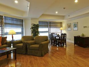 Greenstone Serviced Residences Makati Manila - 2 Bedroom Living Room