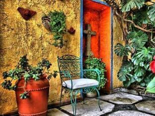 La Casita Del Patio Verde Bed And Breakfast Mexico-stad - Balkon/Terras