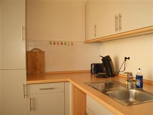Berlin Rooms Apartments Leipziger Strasse Berlin - American kitchen
