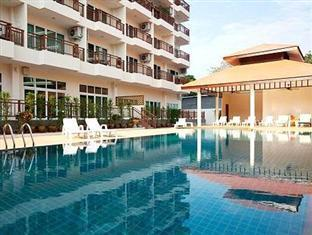 Emerald Palace - Serviced Apartment Pattaya - Swimming Pool and Sala