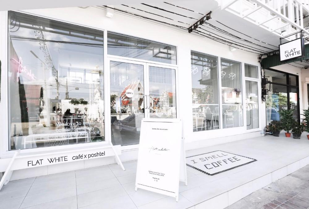 Flat White Cafe x Poshtel