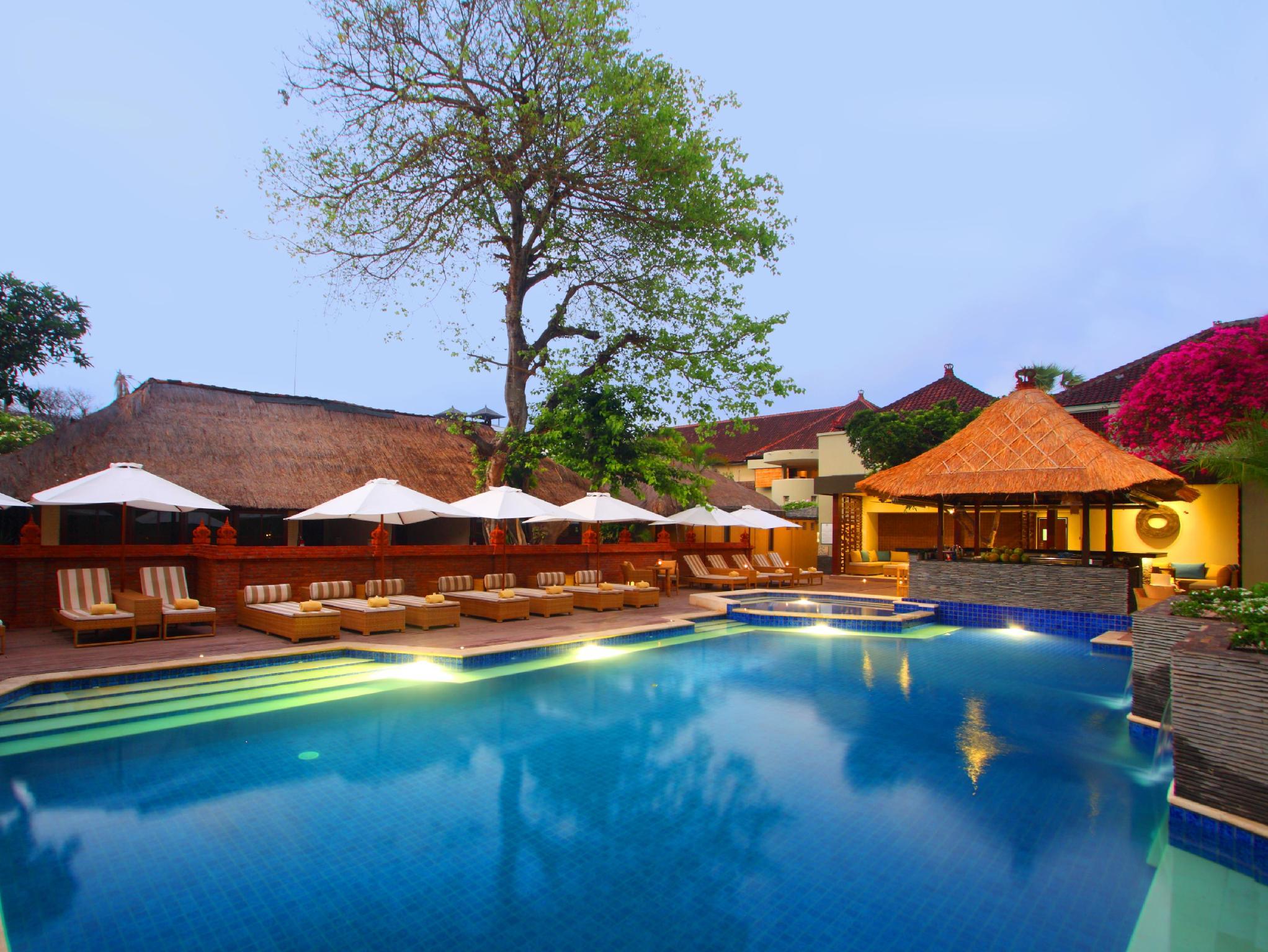Alamkulkul boutique resort kuta bali indonesia great for Hip hotels bali