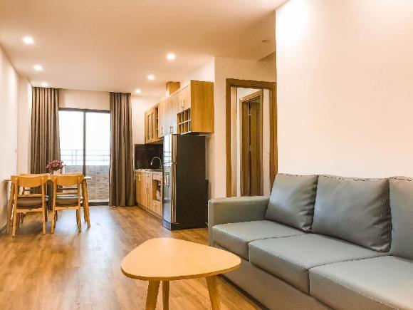 2 BR sea view apartment. My Khe beach 27f