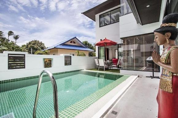 3 Bedroomed Villa - Walk to Ban Tai beach (12)