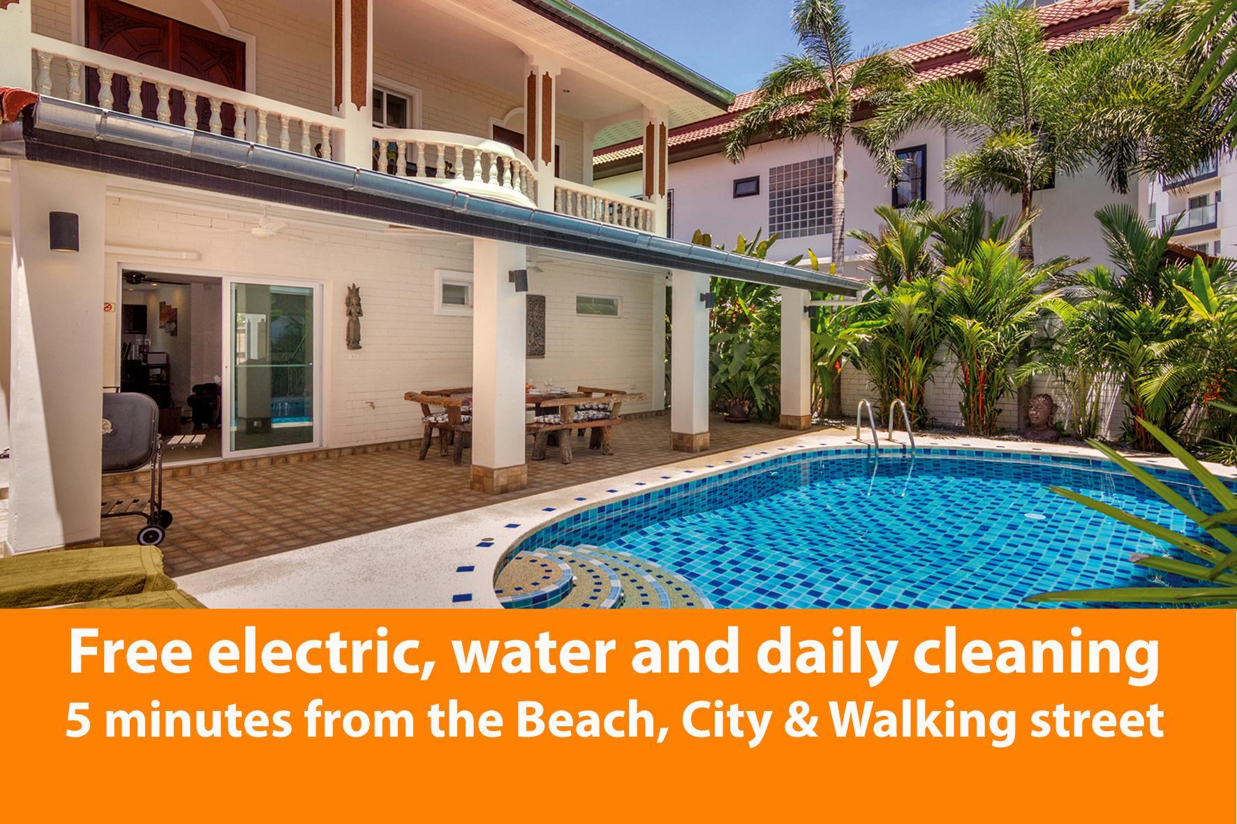 City Resort  WareeSabai, 9 ห้องนอน 7 ห้องน้ำส่วนตัว ขนาด 600 ตร.ม. – เขาพระตำหนัก