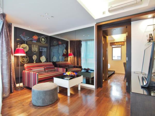 香港武士堡服务式住宅(隆堡兰桂坊酒店) 香港旅游 第1张
