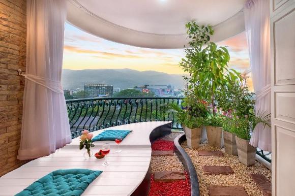 Chiangmai Nimman Garden Studio Mountain View