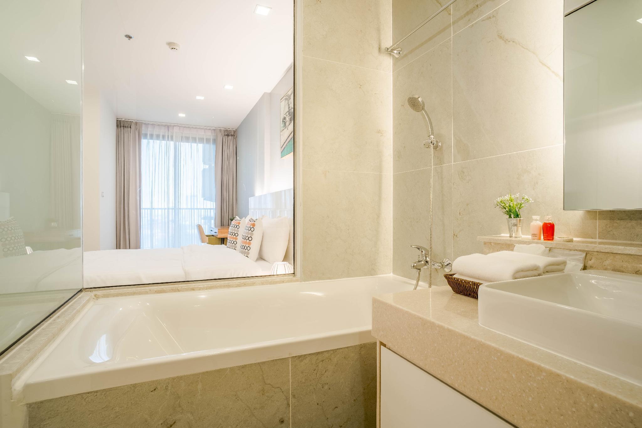 ,อพาร์ตเมนต์ 1 ห้องนอน 1 ห้องน้ำส่วนตัว ขนาด 51 ตร.ม. – ช้างคลาน