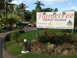Flametree Tourist Village Whitsundays - Entrance