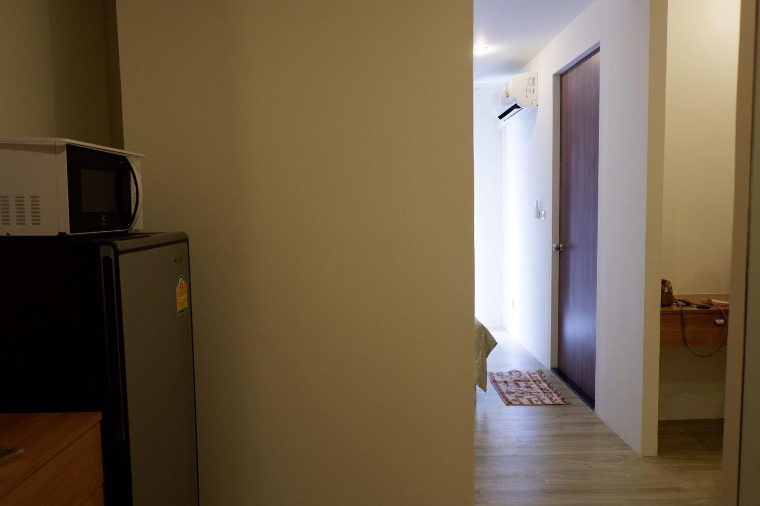 อพาร์ตเมนต์ 1 ห้องนอน 1 ห้องน้ำส่วนตัว ขนาด 32 ตร.ม. – บางบ่อ