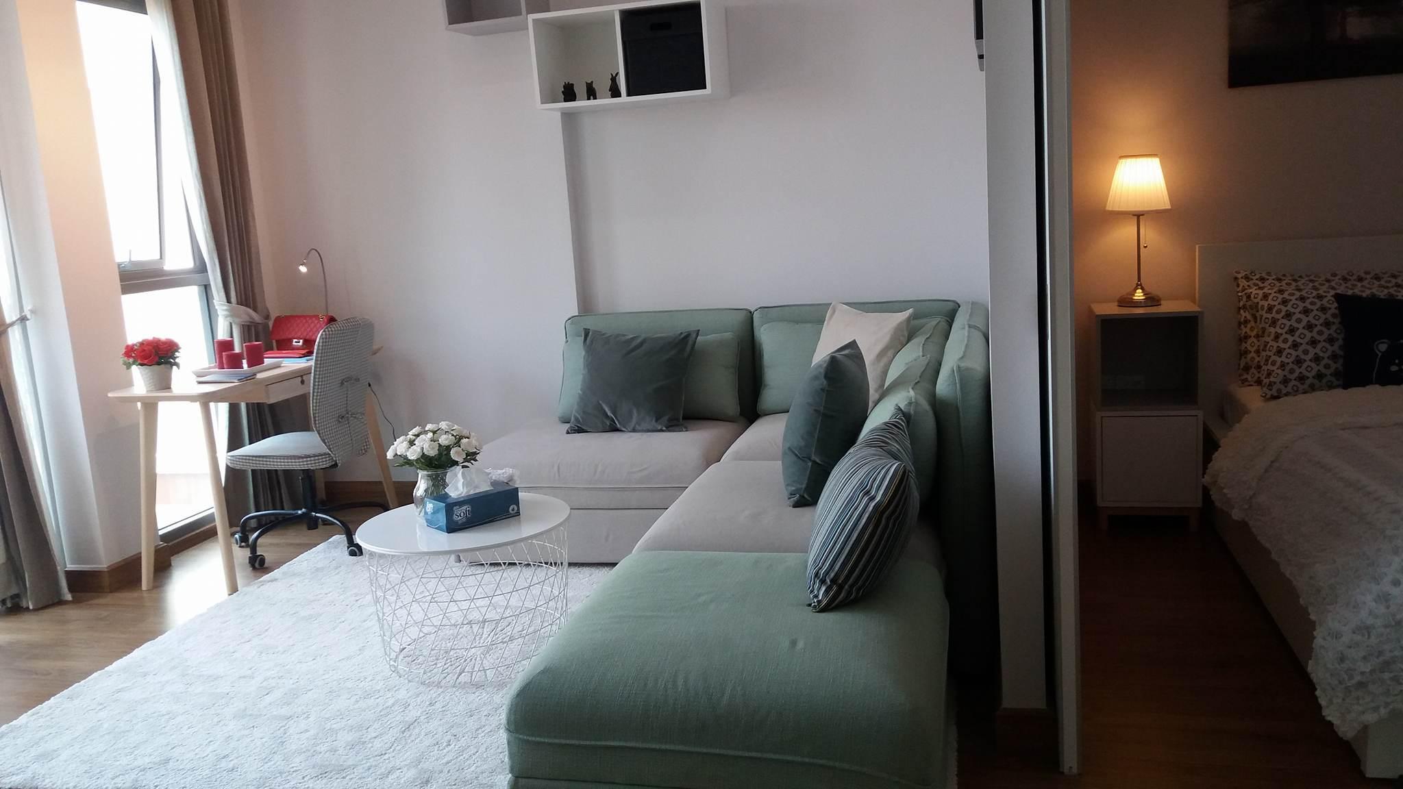 ,อพาร์ตเมนต์ 1 ห้องนอน 1 ห้องน้ำส่วนตัว ขนาด 47 ตร.ม. – นิมมานเหมินทร์