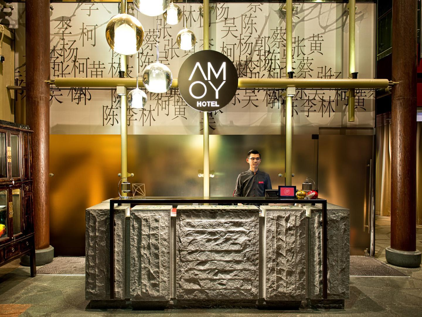 AMOY by Far East Hospitality Singapore Map