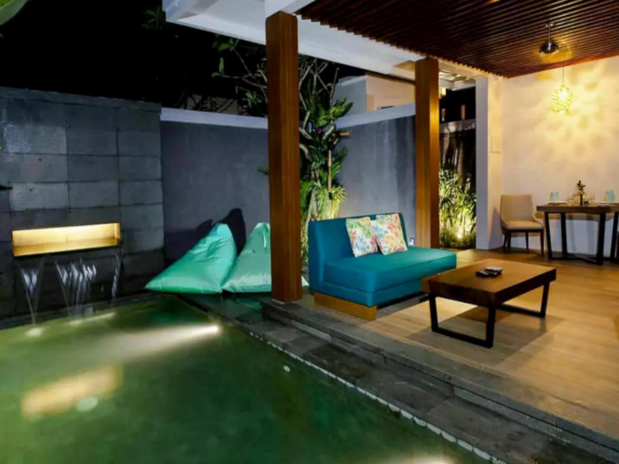 Honeymoon 1BR Private Pool Villa Legian Kuta #218