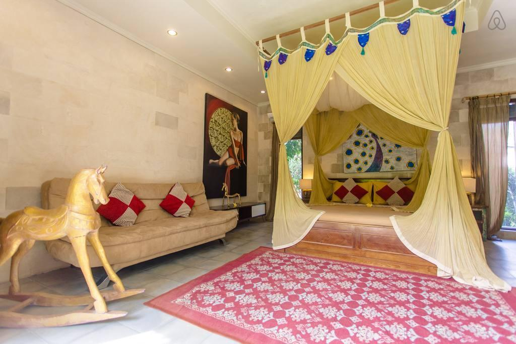 Luxury Suite in rice paddies @Ubud