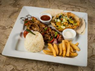 Bohol Beach Club Resort Panglao Island - chicken shish kebab