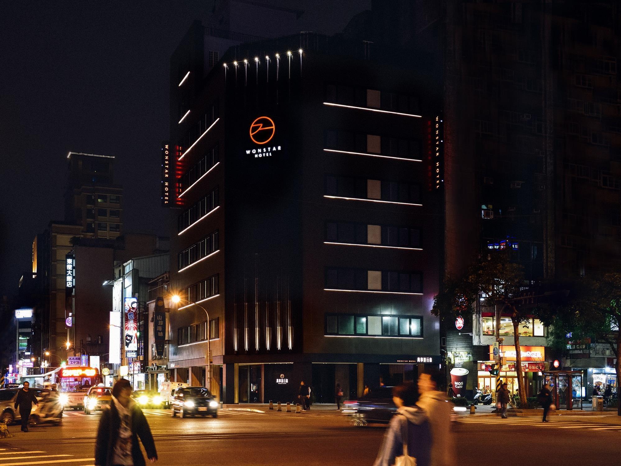 Wonstar hotel ximen i ximending taipei taiwan great for Design ximen hotel ximending